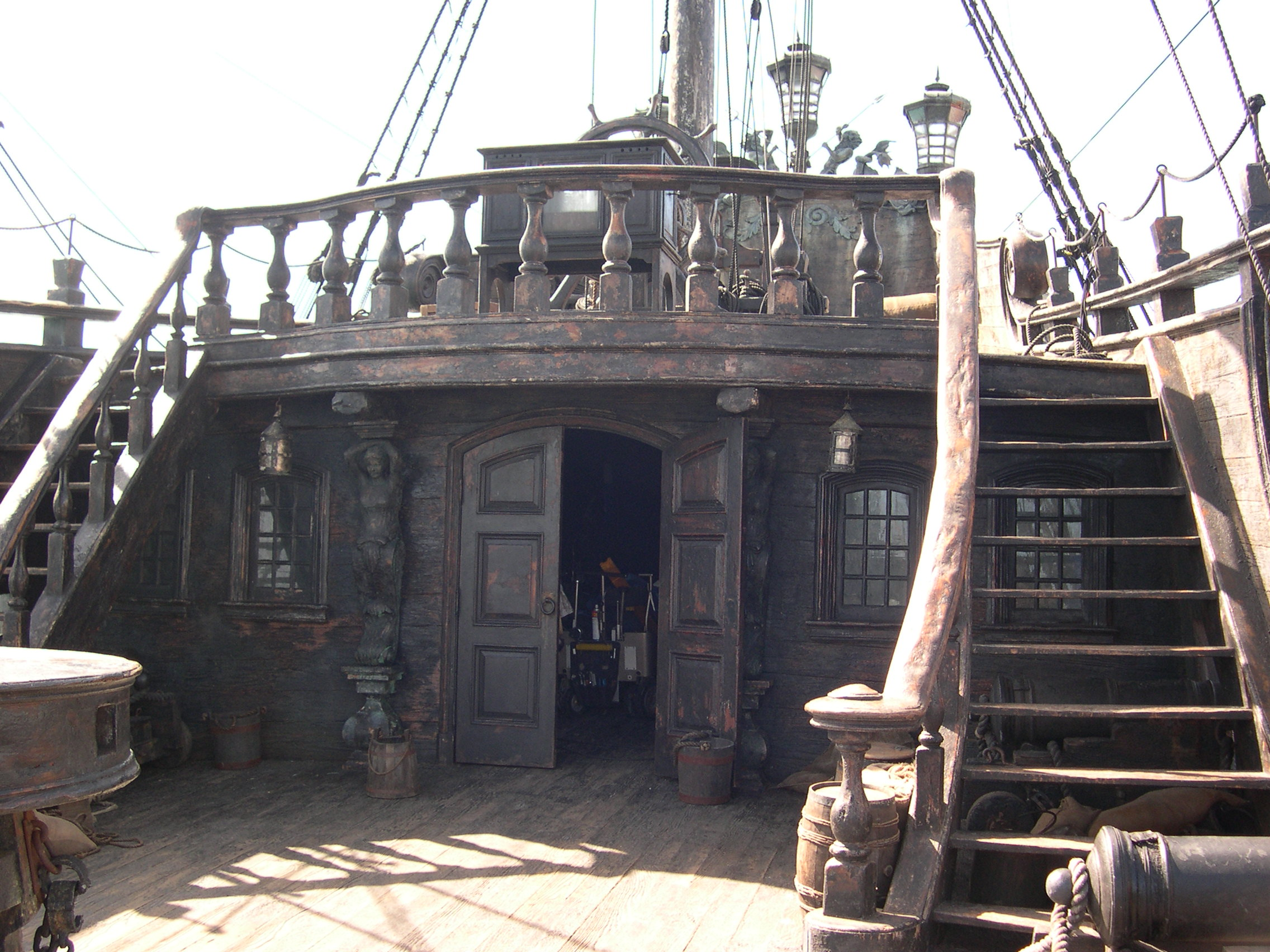 Pirates of the caribbean on stranger tides paula 39 s paradise for Deck plans for sale