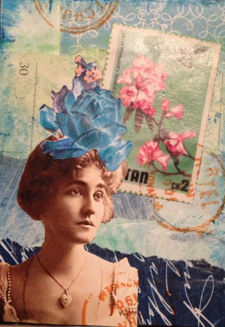 artist trading card by Paula Boyd Farrington