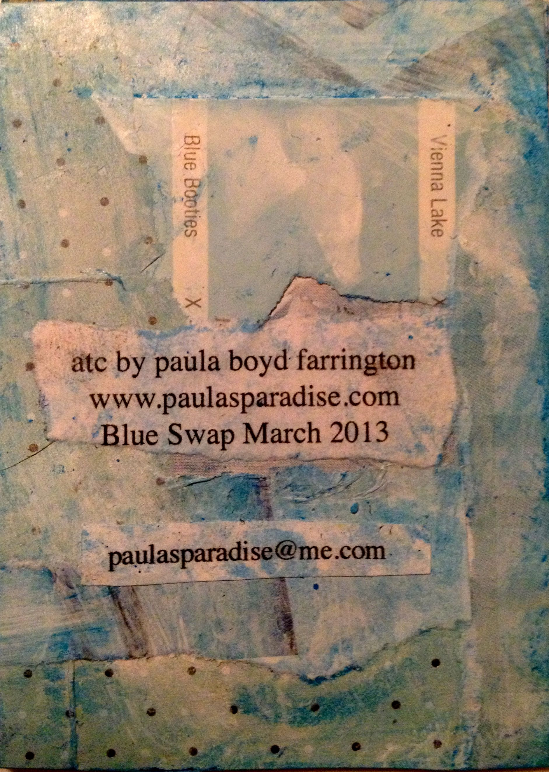 all images © Paula Boyd Farrington