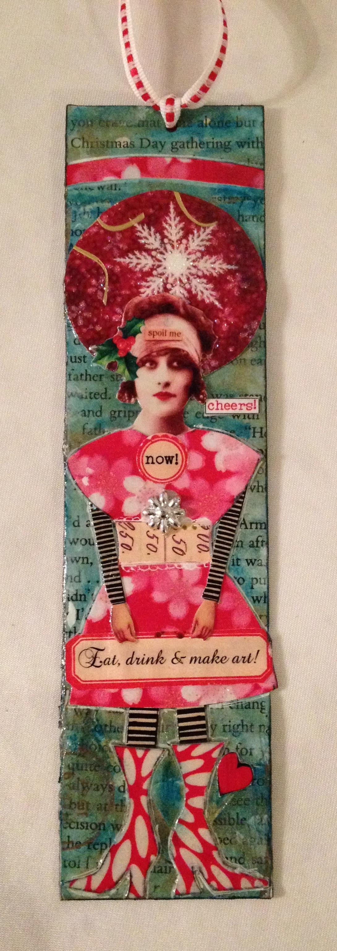collage bookmark ©2013 paula boyd farrington